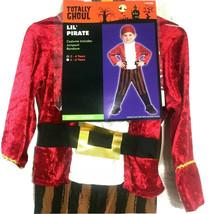 Pirate Costume Boys 2 To 4 Toddler Renaissance Children Jumpsuit Playtime - $18.81