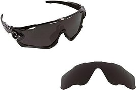 New SEEK OPTICS Replacement Lenses Oakley JAWBREAKER - Polarized Black - $26.22