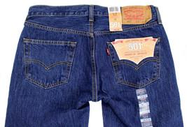 Levi's 501 Men's Original Fit Straight Leg Jeans Button Fly 501-0194