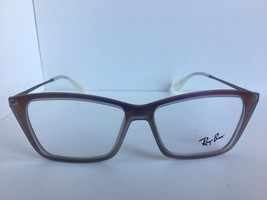 New Ray-Ban  RB 7022 5498 52mm Neon Clear Cats Eye Women's Eyeglasses Frame - $34.99