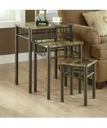 Elegant Monarch Living Room 3 Piece Nesting Tables Lamp End Table Design... - $245.91