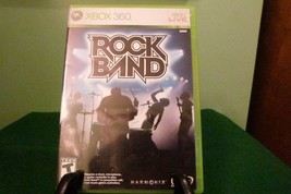 Rock Band (Microsoft Xbox 360, 2007) VG Condition W/Manual - $12.86