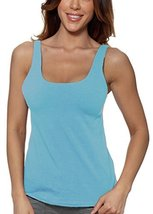 Alessandra B Underwire Sports Bra Tank Top (38B, Light Blue) - $29.99