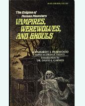 Vampires, Werewolves & Ghouls 1968 PB 1st Edition - $7.99