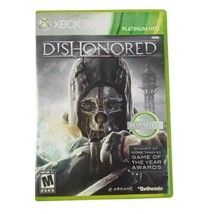 Microsoft Xbox 360 Dishonored Platinum Hits Video Game (Complete, 2012) - $9.74