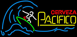 Cerveza Pacifico Surfer Wave Neon Sign - $799.00