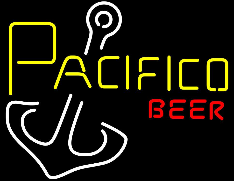 Pacifico Anchor Beer Neon Sign - Neon