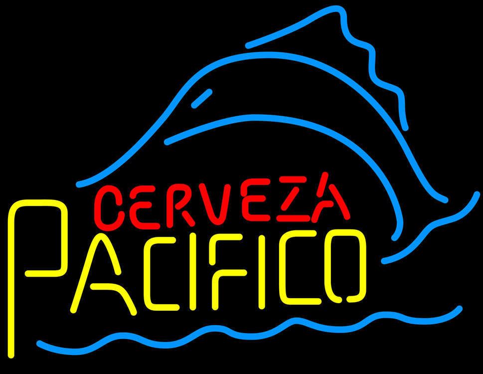 Cerveza pacifico sailfish neon sign and similar items for Pacifico fish company