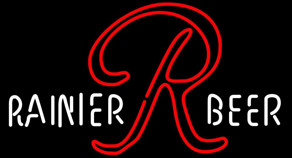 Rainier Beer 1950s 1960s Bar Neon Sign - Neon