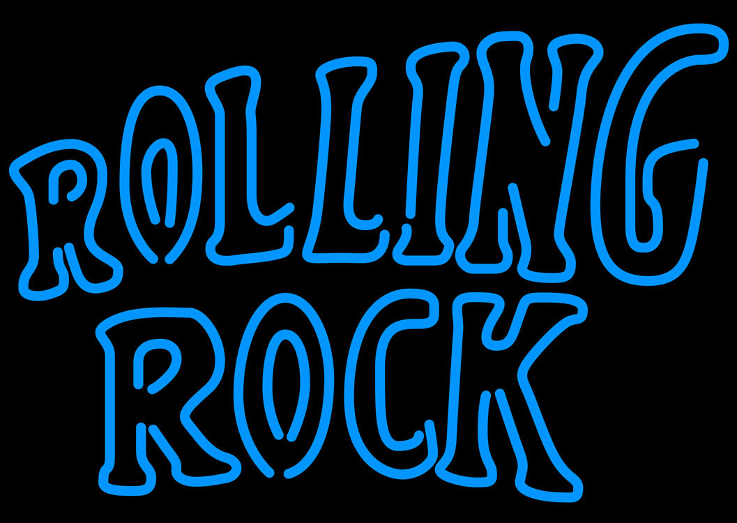 Rolling Rock Neon Sign