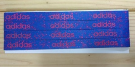 New Unisex Adidas Running HEADBAND Purple Design Adidas Logo One Size Al... - $6.00