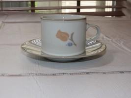 """Dansk Tivoli La Tulipe Tea Coffee Cup & Saucer set 6 1/2"""" saucer 3 1/4"""" ... - $24.74"""