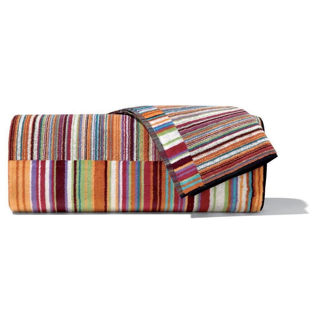 missoni home striped bath towel jazz color and 13 similar items