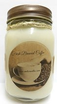 Fresh Ground Coffee -16oz Country Jar All Natural Hand Made Soy Candle - $13.99