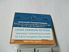 Jacksonville Terminal Company # 535045 Canadian National  53' Container image 2