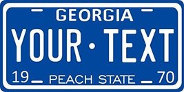 Georgia 1970 Personalized Tag Vehicle Car Auto License Plate - $16.75
