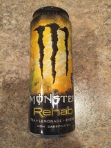 Monster Rehab 24oz Can Discontinued Very Rare Product. 1 Sealed Unopened... - $14.84