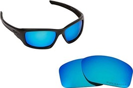 New Seek Optics Replacement Lenses Oakley Valve   Polarized Blue - $18.30