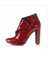 Louis Vuitton Red Patent Croc-embossed Delft Cornelia Boots/Booties SZ 37 - $445.50
