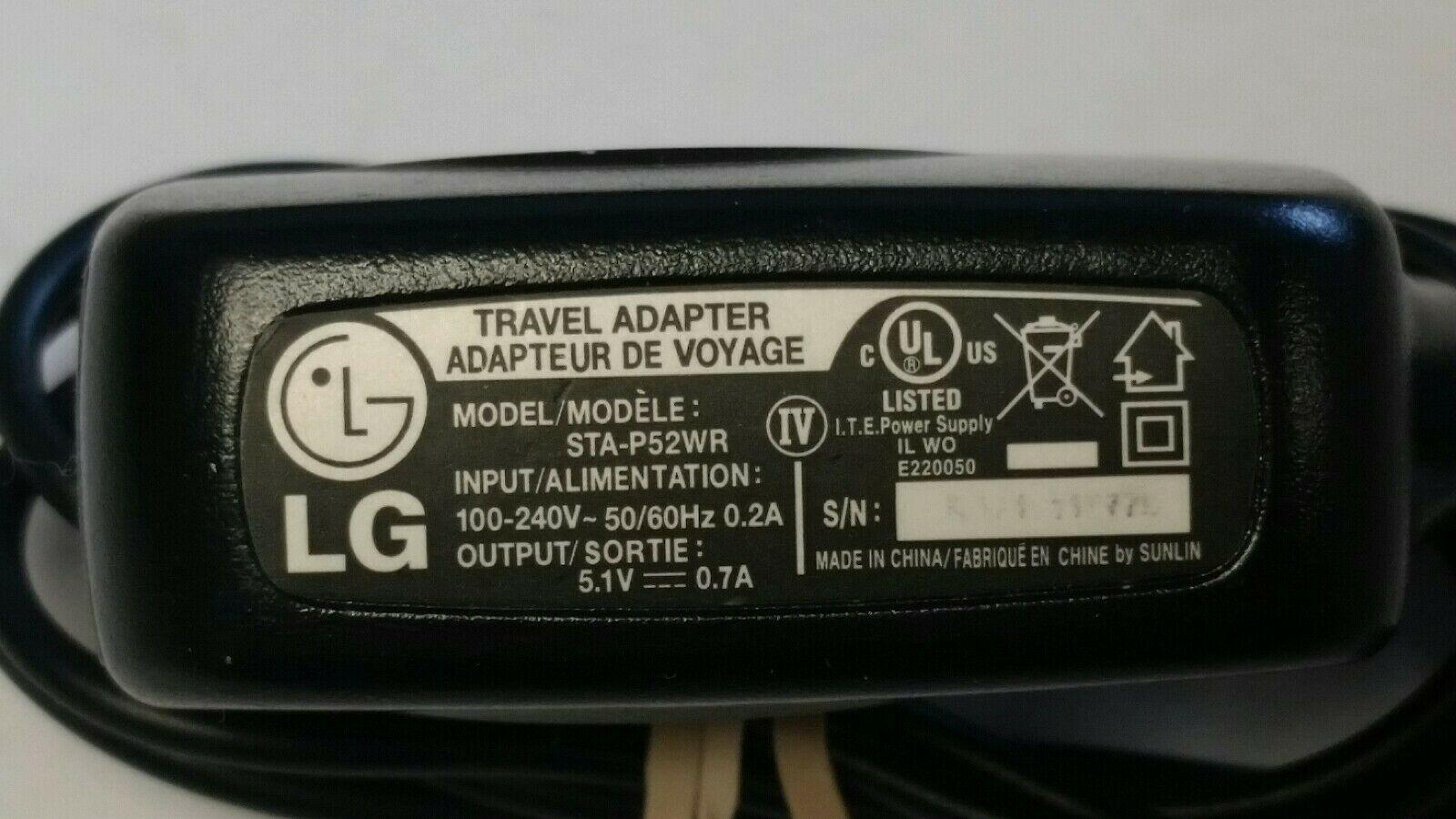 LG POWER ADAPTER STA-P5SWR #I-297 C image 2