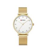 New Ladies Fashion Quartz Watches Women Waterproof Gold Watch Female Luxury - $34.92