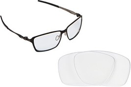 New SEEK OPTICS Replacement Lenses Oakley TINCAN - Clear - $10.86