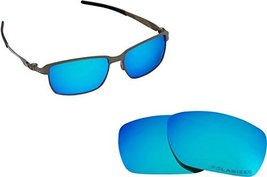 New SEEK Replacement Lenses Oakley TINFOIL CARBON- Polarized Blue - $18.30