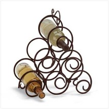 Scrollwork Wine Rack - $22.95