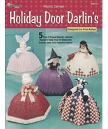 Holiday Door Darlin's Doorstops, Plastic Canvas Pattern Booklet TNS 993114 - $7.75