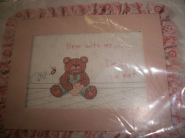 """Bear With Me... I'm On A Diet"" Cross Stitch Chart - $5.00"