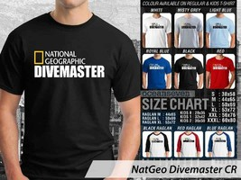 T shirt National Geographic Dive Master Many Color & Design Option - $10.99+