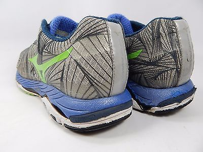 Mizuno Wave Paradox Men's Running Shoes Size US 13 M (D) EU 47 Gray Green