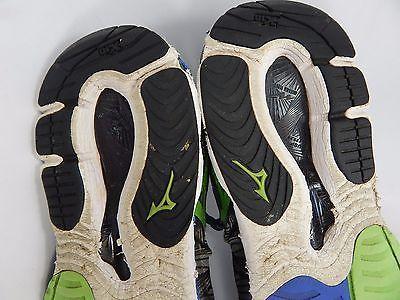 Mizuno Wave Paradox Men's Running Shoes Size US 13 M (D) EU 47 Gray Green