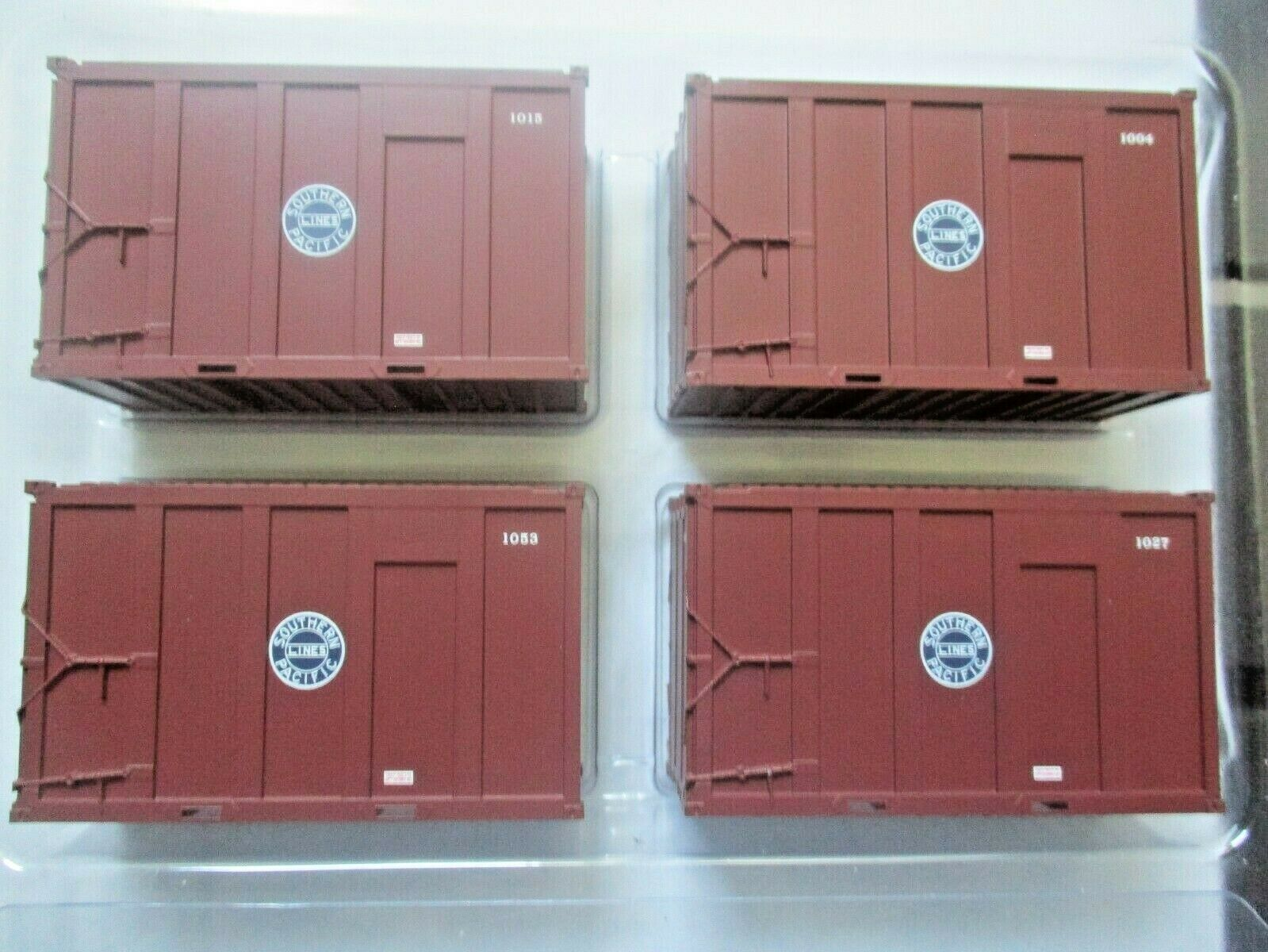 Atlas # 20006065 Southern Pacific Set #1 20' High-Cube MSW Container (HO)
