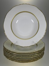 Syracuse China Cornwall Rimmed Soup Bowls Set of 8 - $58.86