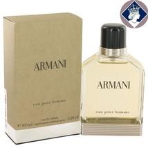 Giorgio Armani Eau Pour Homme 100ml_3.4oz Eau De Toilette Cologne Spray ... - $119.77