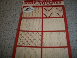 Designer's Guide Knit Stitches & Easy Projects - $5.00