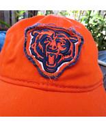 Distressed Licensed NFL Chicago Bears Logo Hat Cap OSFA Orange - $9.59