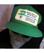 Vtg Burlington Northern Sioux City Iowa Operation Life Saver Snapback Ca... - $12.89