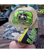 US ARMY Digital Camo Adjustable Embroidered Hat Cap Military Dept of Def... - $11.09