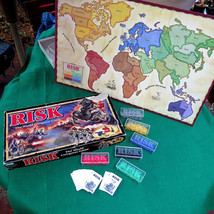 Risk Board Game Game of World Conquest 1993 Parker Brothers All 360 Mini... - $16.49