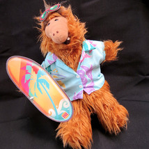 NOS Alf Hand Puppet 1988 Burger King Surfing Hawaiian Alf Alien NWT Comp... - $14.69