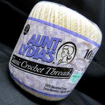NOS Aunt Lydia's Classic Crochet Thread 10 1.5m... - $4.99
