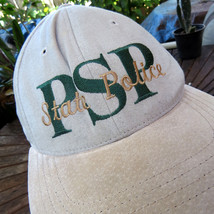 PSP Pennsylvania State Police Suede Hat Cap OSFA State Trooper Law Enforcement - $13.66