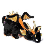 Retired Rare Webkinz Ganz Lava Dragon Hard-to-Find Plush No Code Orange ... - $25.10