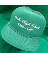 Delta High School Class of 1948 Reunion Mesh Snapback Hat Otto Cap Green... - $17.44