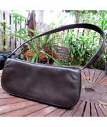 Kenneth Cole New York Leather Purse Handbag Satchel Brown Shoulder Bag C... - $13.79