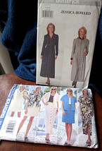 Uncut Butterick #5080 Jessica Howard Dress and #5048 Dress Two-Piece Ens... - $10.39