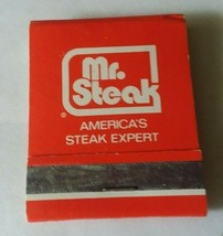Michigan Up North Okemus Mr Steak Restaurant Matchbook Matches Avertisem... - $8.90