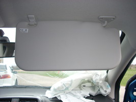 2015 MITSUBISHI MIRAGE RIGHT SUN VISOR